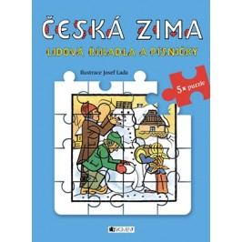 Lidová říkadla a písničky s puzzle - Česká zima - Josef Lada |