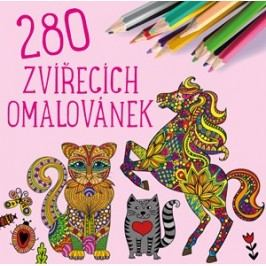 280 zvířecích omalovánek | kolektiv