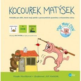 Kocourek Matýsek – s piktogramy | Vlasta Hurtíková