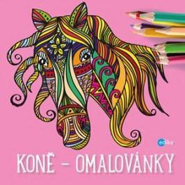 Koně - omalovánky | Yulia Mamonova