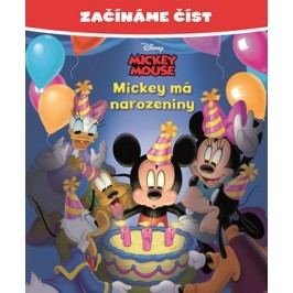 Začínáme číst - Mickey Mouse - Mickey má narozeniny   Walt Disney, Walt Disney