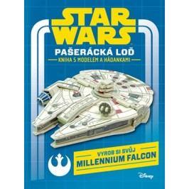Star Wars - Pašerácká loď - kniha s modelem a hádankami |  Lucas