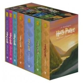 Harry Potter box 1-7 | Vladimír Medek, J. K. Rowlingová, Mary GrandPré, Pavel Medek