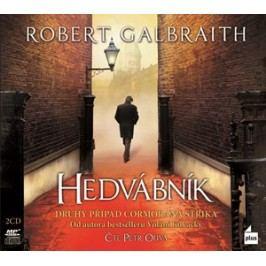 Hedvábník (audiokniha) | Robert Galbraith (pseudonym J. K. Rowlingové)