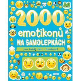 2000 emotikonů na samolepkách pro každý den s úsměvem | kolektiv