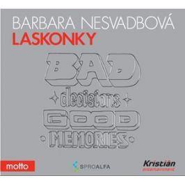 Laskonky (audiokniha) | Barbara Nesvadbová, Jana Stryková
