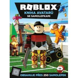 Roblox - Kniha avatarů se samolepkami | kolektiv