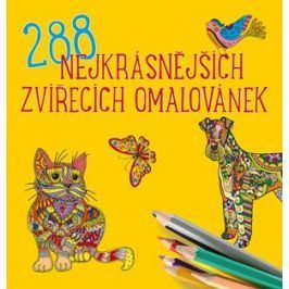 288 nejkrásnějších zvířecích omalovánek | kolektiv