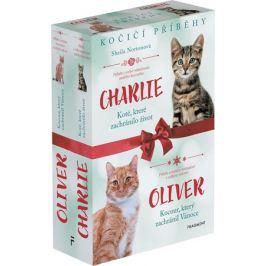 Kočičí příběhy: Oliver + Charlie – box | Sheila Norton