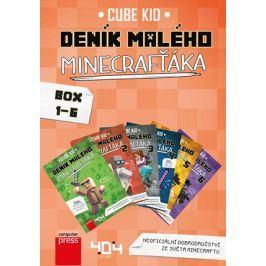 Deník malého Minecrafťáka BOX 1-6 | Cube Kid