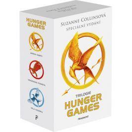 HUNGER GAMES – komplet, výroční vydání 1.-3.díl - box | Suzanne Collinsová, Zdík Dušek