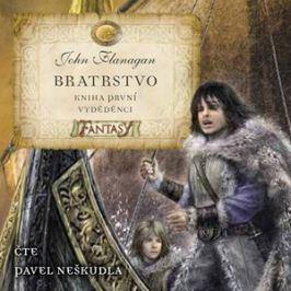 Bratrstvo Kniha první - Vyděděnci (audiokniha pro děti) | Jan Patrik Krásný, John Flanagan, Pavel Neškudla