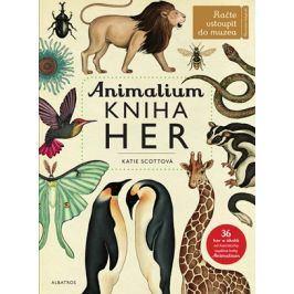 Animalium - kniha her | Jenny Broomová, Katie Scottová