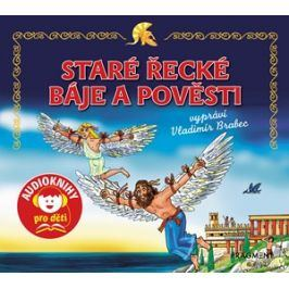Staré řecké báje a pověsti (audiokniha pro děti) | Jana Eislerová, Vladimír Brabec