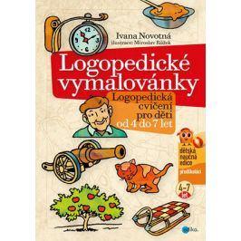 Logopedické vymalovánky   Ivana Novotná, Růžek Miroslav