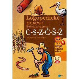 Logopedické pexeso a obrázkové čtení C-S-Z-Č-Š-Ž   Bohdana Pávková