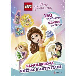 LEGO® Disney Princezna™ Samolepková knížka s aktivitami    kolektiv