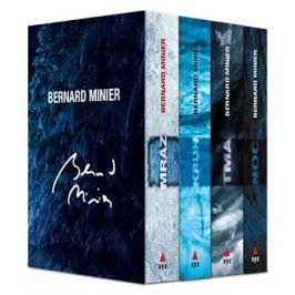 4 x Bernard Minier - box Mráz, Kruh, Tma, Noc | Jiří Žák, Bernard Minier