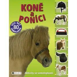 Koně a poníci – aktivity se samolepkami | Michael Fokt