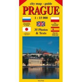 Citymap-guidePRAGUE1:15000(angličtina,ruština,španělština,polština,japonština)-BenešJiří