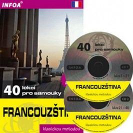 Francouzština-40lekcíprosamouky+2CD-NouschiSylviane,GandilhonNicole