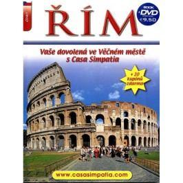 Řím-VašedovolenáveVěčnémměstěsCasaSimpatia+DVD-neuveden