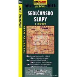 Sedlčansko,Slapy1:50T-turist.mapa-neuveden
