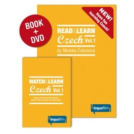 Read+LearnCzechVol.1(učebnice+DVD)-ČekalováMonika