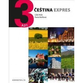 ČeštinaExpres3(A2/1)německá+CD-HoláLída,BořilováPavla