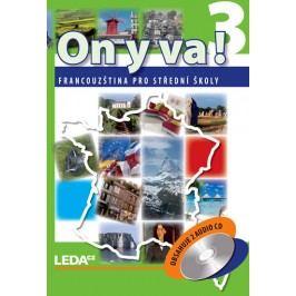 ONYVA!3-Francouzštinaprostředníškoly-učebnice+2CD-2.vydání-TaišlováJitka