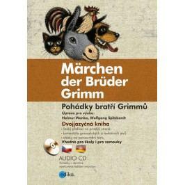 PohádkybratříGrimmů/MärchenderBrüderGrimm+CDmp3-GrimmoviJacobaWilhelm