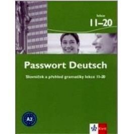 PasswortDeutsch11-20-Slovníčekapřehledgramatiky-AlbrechtU.,DaneD.,FandrychCh.