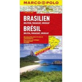 Brazílie,Bolívie,Paraguaay,Uruguay-neuveden