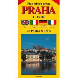 PlánstředuměstaPRAHA1:15000(čeština,angličtina,italština,němčina,francozština)-BenešJiří