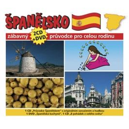 Španělsko-Zábavnýprůvodceprocelourodinu-2CD+DVD-kolektiv