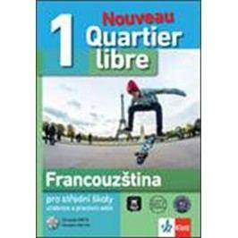 QuartierlibreNouveau1–učebnicespracovnímsešitem+2CD-neuveden