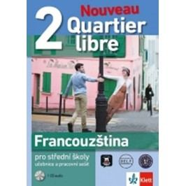 QuartierlibreNouveau2–učebnicespracovnímsešitem+2CD-neuveden