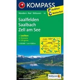SaalfeldenSaalbachZellamSee1:50TKompass-neuveden