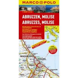 Itálieč.10-Abruzzen,Molise/mapa1:200TMD-neuveden