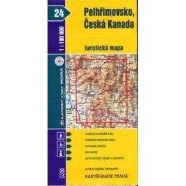 Pelhřimovsko,ČeskáKanada24.turistickámapa-neuveden