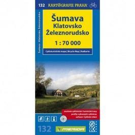 Šumava,Klatovsko,Železnorudsko1:70000-neuveden