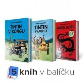 Knižníkomplet-Tintin1-5