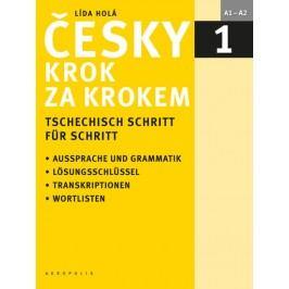 Českykrokzakrokem1/TschechischSchrittfürSchritt1(Učebnice+klíč+2CD)-HoláLída