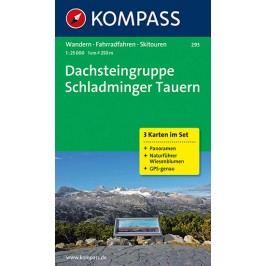 DachsteingruppeSchladmingerTauern293,3mapy/1:25TNKOM-neuveden