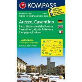 Arezzo,Casentino2459/1:50TNKOM-neuveden