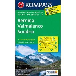 Bernina,Valmalenco,Sondrio93/1:50TNKOM-neuveden