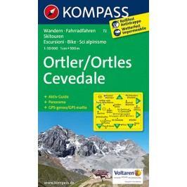 Ortler,Cevedale72/1:50TNKOM-neuveden