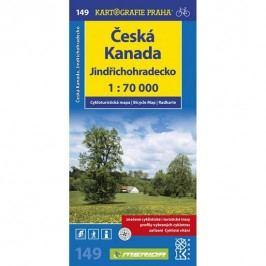 1:70T(149)-Jindřichohradecko,ČeskáKanada(cyklomapa)-neuveden