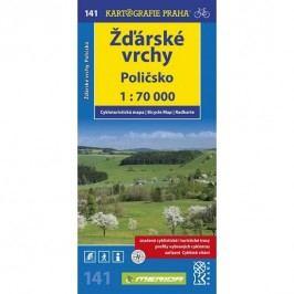 1:70T(141)-Žďárskévrchy,Poličsko(cyklomapa)-neuveden