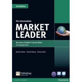 MarketLeader3rdEditionPre-IntermediateCoursebookwithDVD-ROMandMyEnglishLabStudentonlineaccesscodePack-CottonDavid
